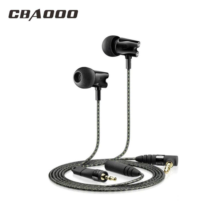 IE800 HD Stereo Bass earphone Hot HF800 earphones In Ear Earphone Ceramic HiFi Subwoofer Earbuds
