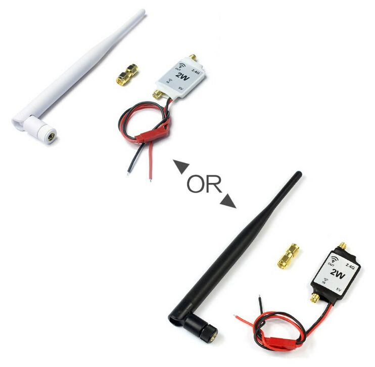 2.4G Radio Signal Amplifier Signal Booster for RC Model Quadcopter Multicopter Drone 2.4G Remote control
