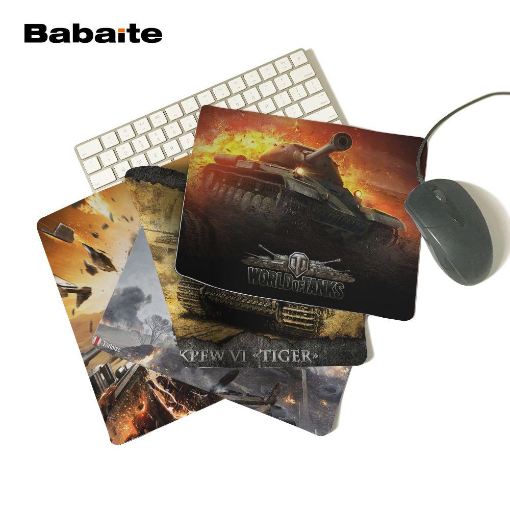 Babaite New World of tanks mauspad Heiße verkäufe mousepad laptop maus-pad notbook computer gaming-mauspad gamer spielen matten