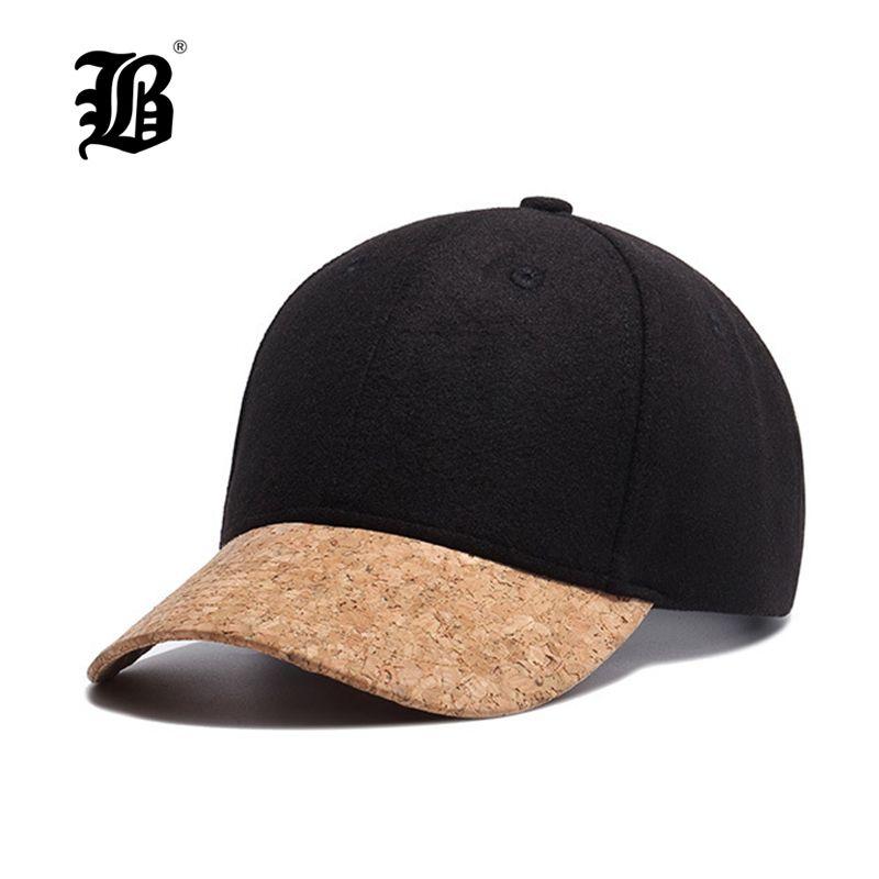 [FLB] 2017 Herbst Kork Mode Einfachen Männer Frauen Hut Hüte Baseballmütze Hip Hop Hysterese Klassischen Caps Winter