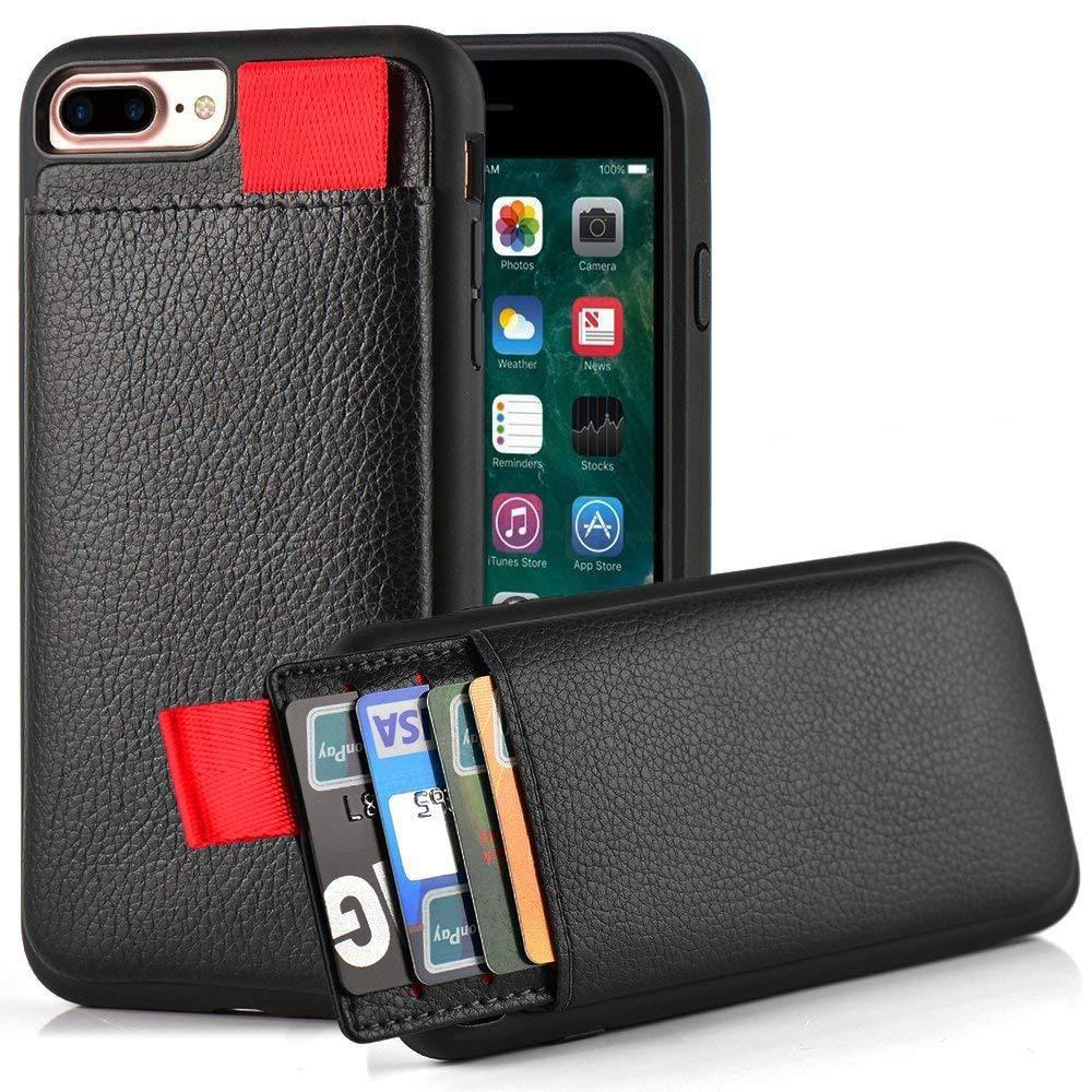 Étui pour iPhone XS Max XS XR étui portefeuille en cuir fente pour carte pochette pour iPhone X 6 6 S 7 8 Plus cadre en Silicone