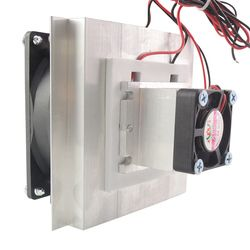 12V Thermoelectric Peltier Cooler Refrigeration Semiconductor Cooling System Kit Cooler Fan Finished Kit Computer Components