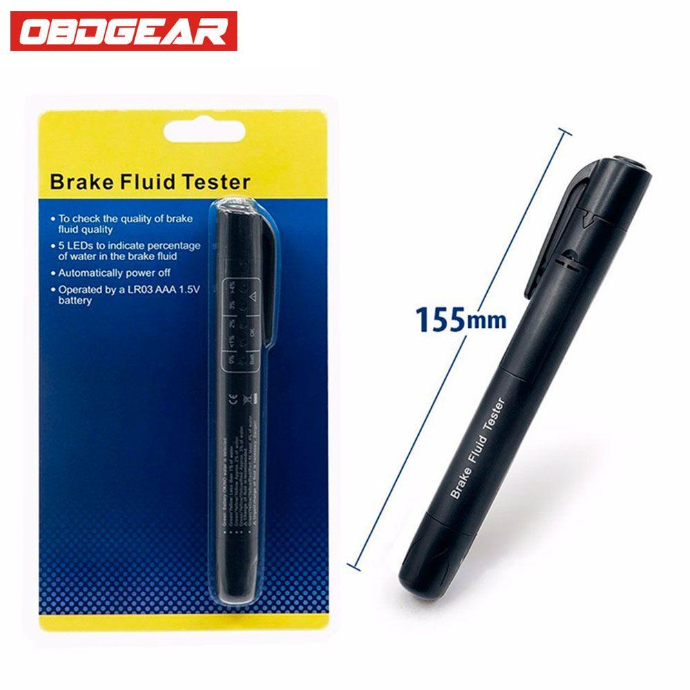 Тормозная жидкость тестера Pen с 5 LED авто автомобиль Инструменты автомобиль авто Автомобильная инструмент диагностики для dot3/ DOT4 авто