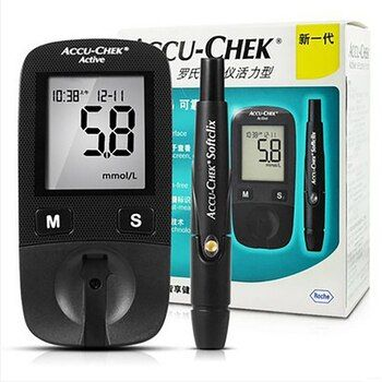 Hot Sale Blood Sugar Tests Accu-Chek Active Blood Glucose Meter For Care Blood Test Diabetes Household Glucosemeter Monitor