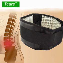 * Tcare регулируемый пояс турмалиновый самонагревающийся Магнитный терапия поддержка для талии пояс Бандаж Массажная лента для здоровья