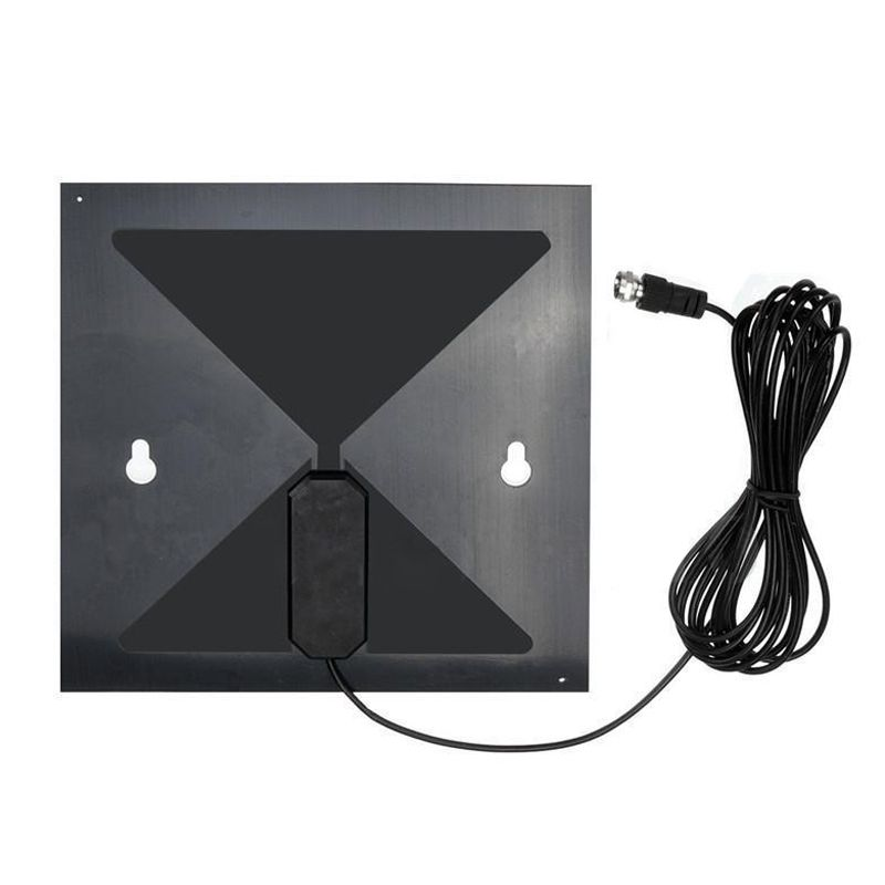 Clear TV HD Digital Antenna - As Seen on TV - No More Cable Bills New Black
