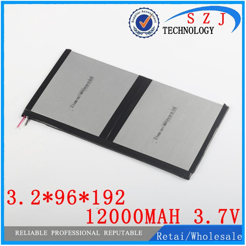 3.7v 12000mAh For Teclast X98 air 3G P98 3G, chuwi v99i Tablet PC Battery 3 wire <font><b>Perfect</b></font> quality of large capacity alternatives