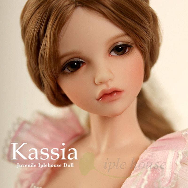 New Iplehouse IP Jid Kassia bjd sd doll 1/4 body free eyes Joint doll gift High Quality resin toys girls Strong action