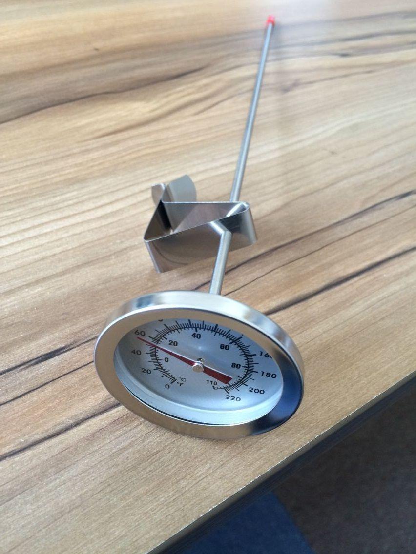 Big Daddy Zeigerthermometer, Homebrew Thermometer, 2