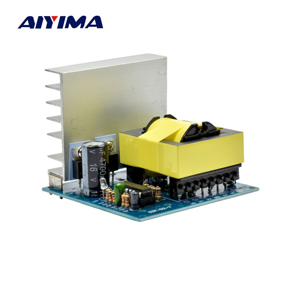 Aiyima DC-AC Converter 12V to 220V 380V 18V AC 500W Inverter Board Pre booster module