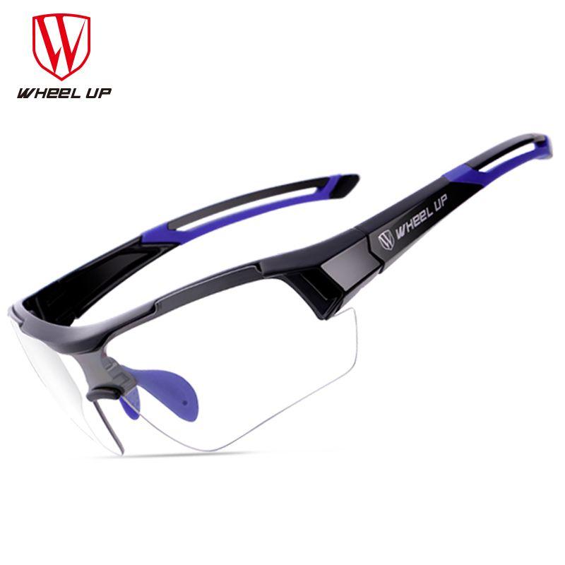 Wheel Up Bike Photochromic Glasses Outdoor Sports Cycling Glasses Unisex Anti-uv Mtb Mountain Windproof Bicycle Sunglasses Men