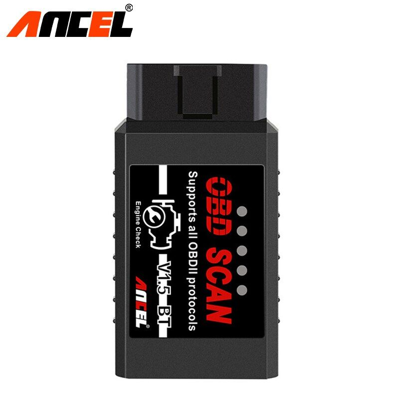 Ancel OBD2 Scanner Diagnose Werkzeug ELM327 Bluetooth V1.5 Unterstützt Android Mit PIC18F25K80 ULME 327 Diesel Autos Code Scanner