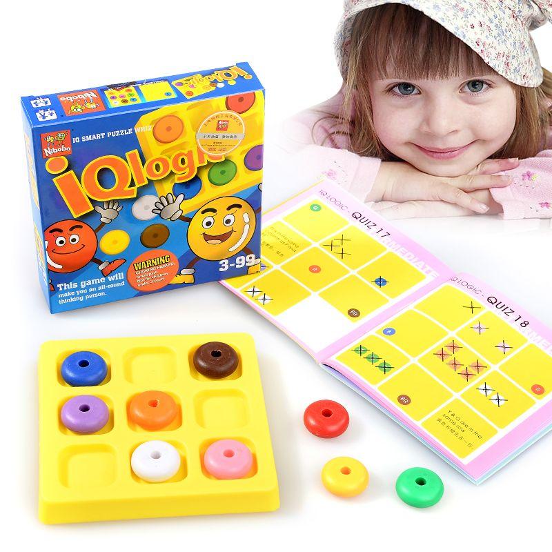 Classique créatif Puzzle esprit cerveau Teaser enfants logique éducatif Puzzles jeu jouets pour enfants adultes
