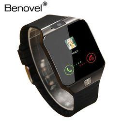 Benovel DZ09 Montre Smart Watch Avec Caméra Bluetooth Montre-Bracelet Sport Portable Dispositifs SIM TF Carte Smartwatch Pour IOS Android Téléphones