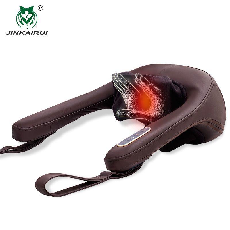 Anti-stress Elektrische Hals Schulter Massage Kissen Malaxation Haushalt Clip Zervikale Massage Gerät Massageador Gesundheit Werkzeug