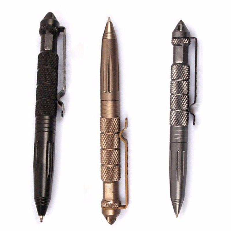 Самообороны тактическая ручка CooYoo авиации Алюминий противоскольжения Портативный инструмент для путешествия отдых Пеший Туризм