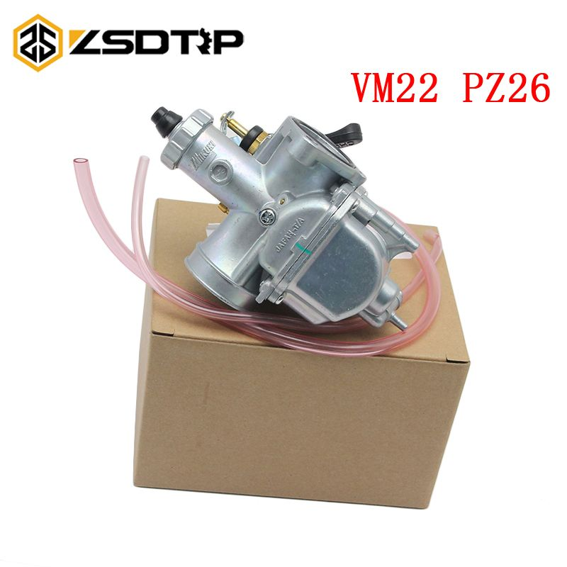 ZSDTRP 125cc Dirt bike Pit Bike Mikuni VM22 Carburetor Performance For 125 140cc Horizontal Engine PZ26 26mm
