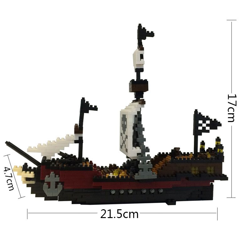 3535 TOL Titanic Ship Model Action Figure ABS Bricks Building Blocks Educational Toys for Children Kids Christmas Xmas