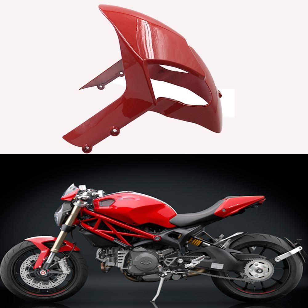 Für Ducati Monster 696 795 796 1200 S4R 1100 1100 S EVO Motorrad Vorne Reifen Kotflügel Kotflügel Splash Schutz Schmutzfänger glanz Verkleidung