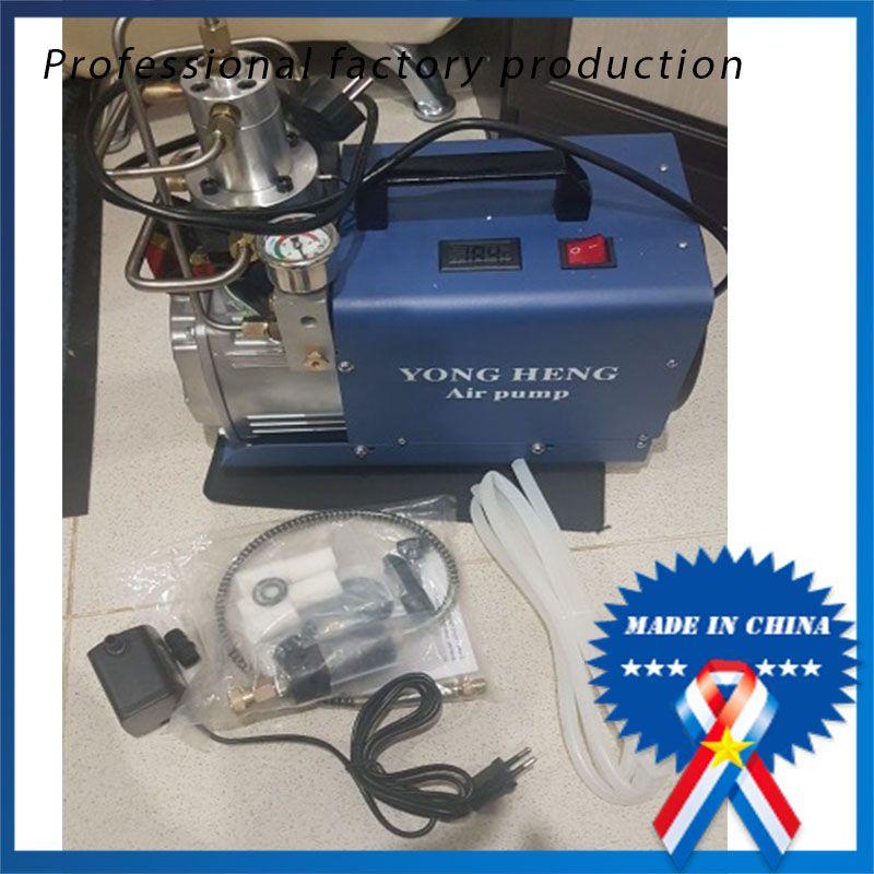 Einstellbare Auto-Stop 4500PSI 300 Bar 220 V Elektrische Hochdruck Wasserkühlung Luftgewehr Scuba Kompressor