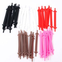 Modern 12pcs Lazy Athletic Running No Tie Shoelaces Women Men Elastic Silicone Shoe Lace All Sneakers Fit Strap