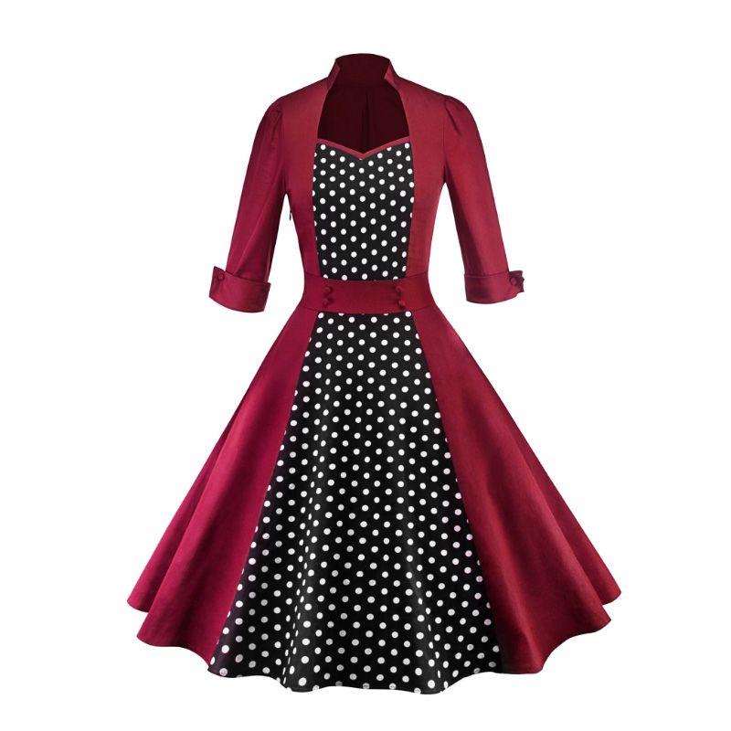 4 dame Feste-farbe Gewinde-gewickelt Hüfte Hohl Splice Kleid LSY226