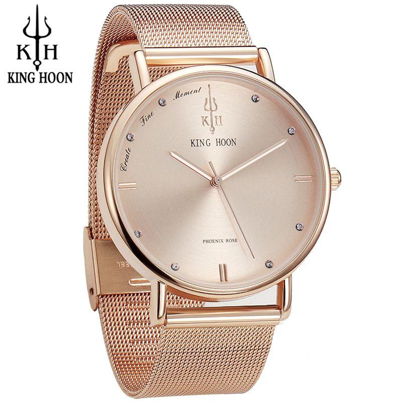 Women Watches Brand Top Luxury Ultrathin 40mm Casual Rose Gold Quartz Wristwatches Relogio Feminino <font><b>Montre</b></font> Femme Relojes