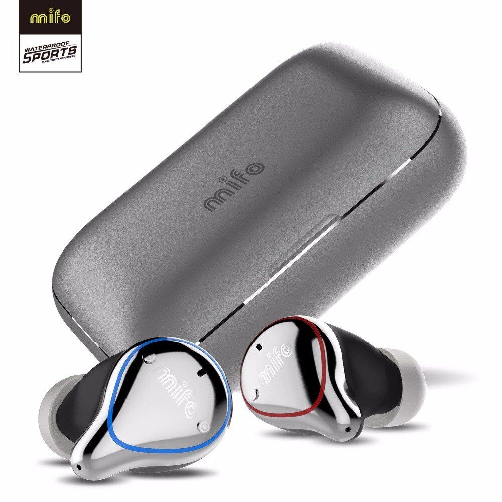 Mifo O5 Wahre Drahtlose kopfhörer Bluetooth 5,0 IPX7 Wasserdicht HiFi Stereo Sport Ohrhörer Noise Cancelling Bluetoot kopfhörer