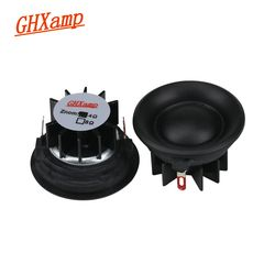 GHXAMP 20 Core 1.5 inch Tweeter Car Speaker Units 4OHM 10W Silk Diaphragm Dome Loudspeaker Neodymium Treble Head 89DB 2PCS