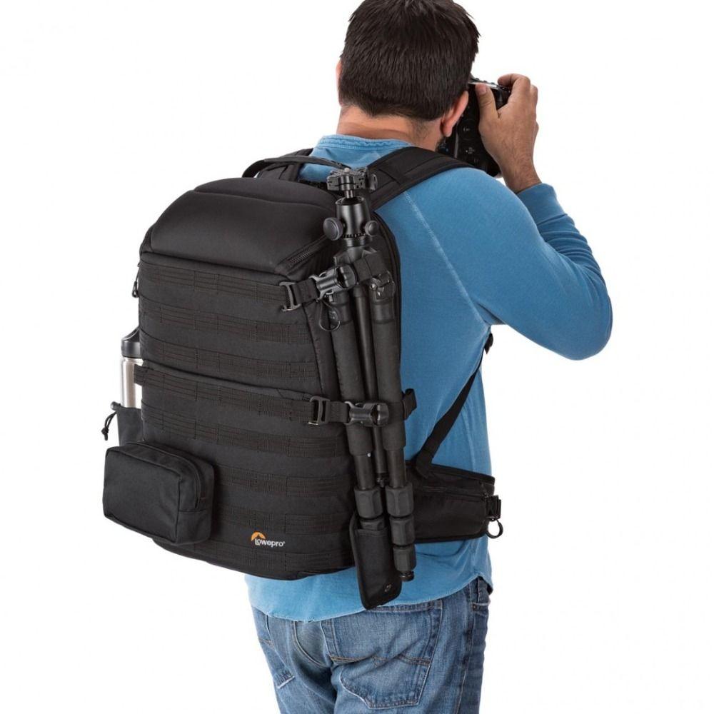 Lowepro ProTactic 450 AW Backpack Rain Professional SLR For Two Cameras Bag <font><b>Shoulder</b></font> Camera Bag dslr 15 Inch Laptop