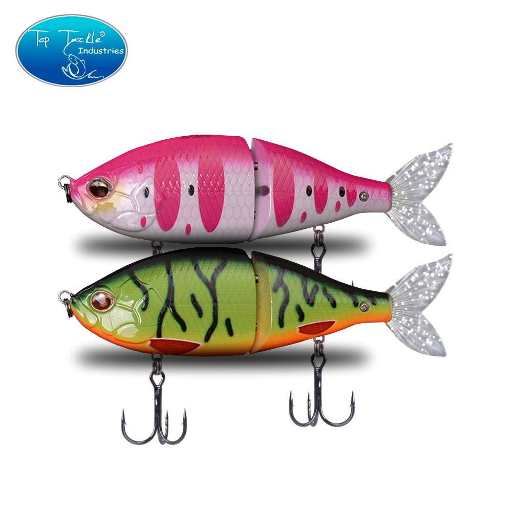 150mm 56g Hard Bait Plastic Jointed Obese Joint hunter Soft Tail Multi-jointed Fishing lure jerk bait Swimbait
