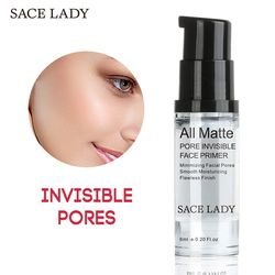 SACE señora Face Primer Base maquillaje 6 ml mate líquido maquillaje líneas finas aceite-control crema Facial Brighten desnuda Fundación cosmética
