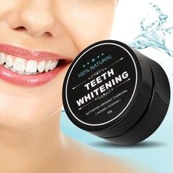 Charcoal Teeth Whitening Scaling Powder Oral Hygiene Cleaning Activated Bamboo Charcoal Powder charbon de blanchiment des dents