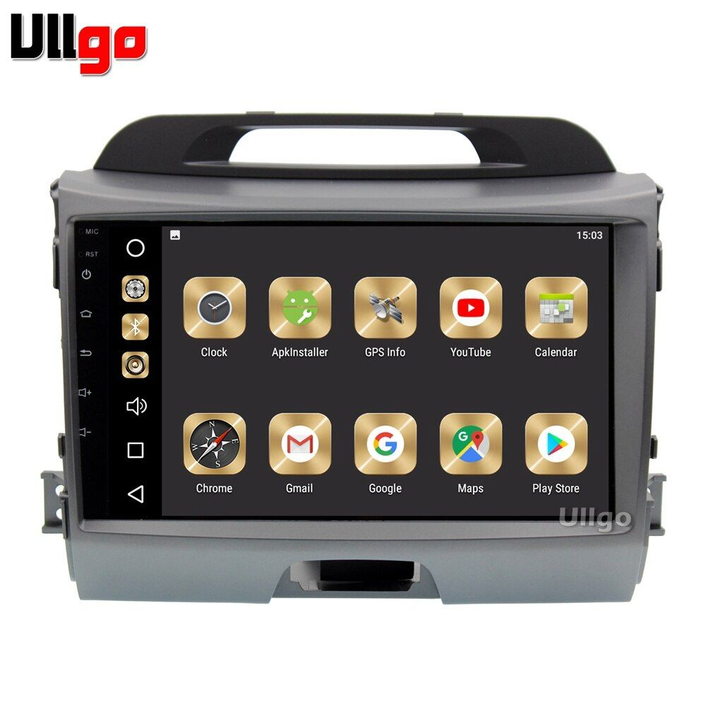 9 ''RAM 4g + ROM 32g Android 8.0 Auto DVD GPS für Kia Sportage 2011-2015 Autoradio GPS Head Unit mit Radio RDS BT Spiegel-link Wifi