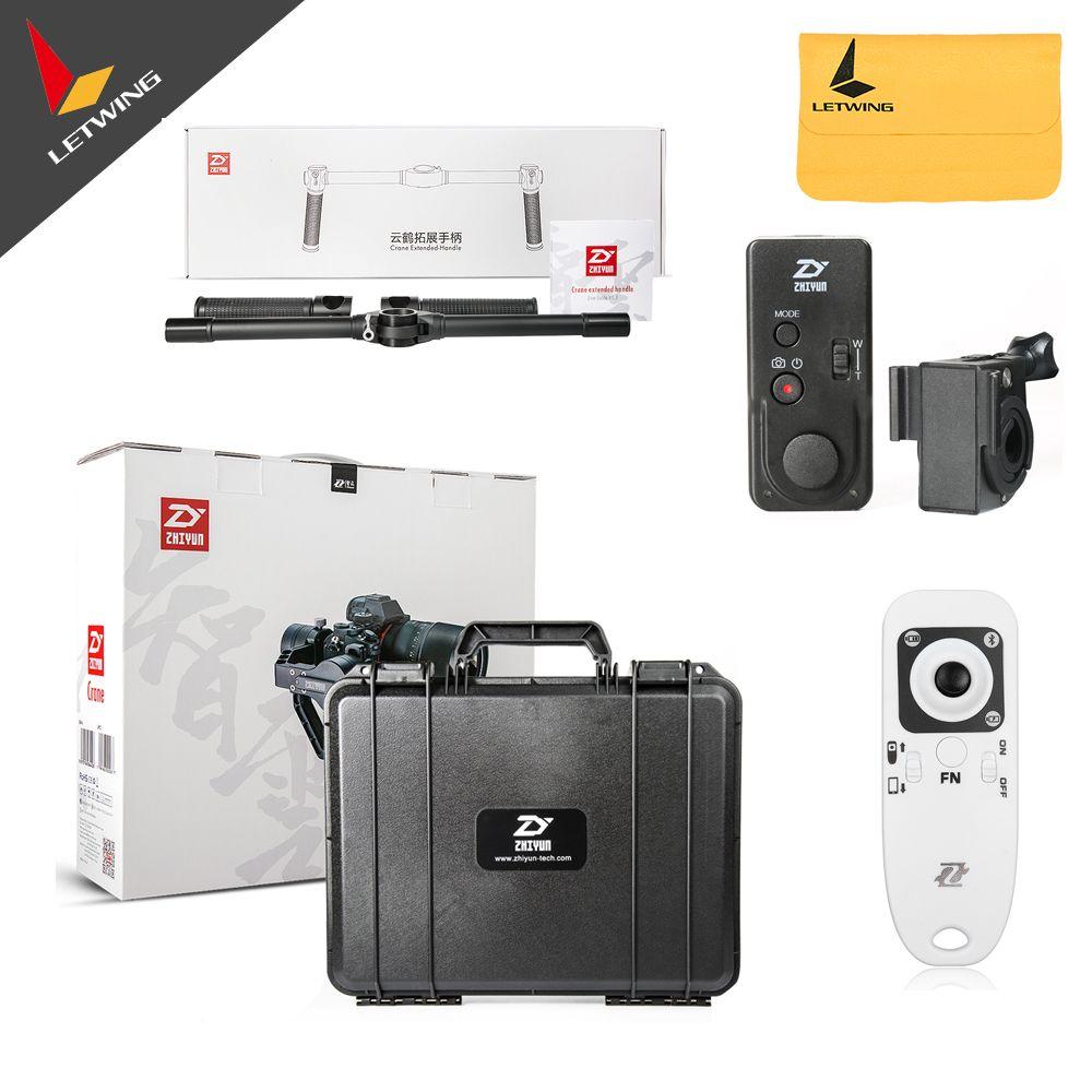 Free DHL! Newest Zhiyun Crane V2 2 3-axis Brushless Handheld Video Camera Stabilizer Gimbal Kit for Mirrorless DSLR Camera