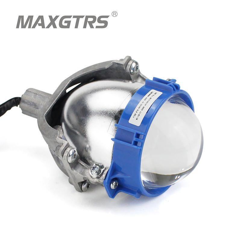 Cheap Price 2PCS Bi LED Projector Headlights Lens Blue/Black 3 Inch LHD RHD High/Low Beam Bi-LED Projector Lens LED H4 H7 Bulb