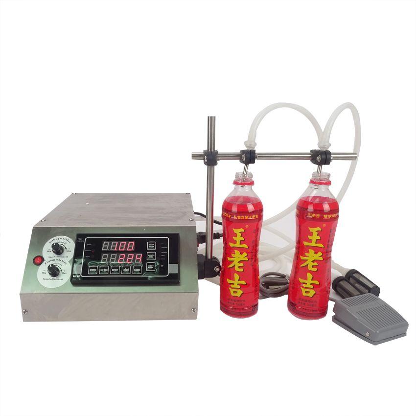 GZL-50-2 zahnradpumpe flüssige füllmaschine (3-4000 ml) für parfüm, öl, saft, wasser, sauce, milch