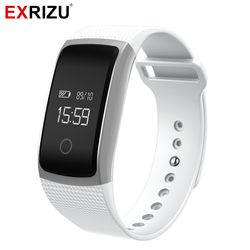 EXRIZU A09 Sports Smart Wristband Pedometer Fitness Bracelet Blood Pressure Meter Heart Rate Monitor Activity Tracker Smartband