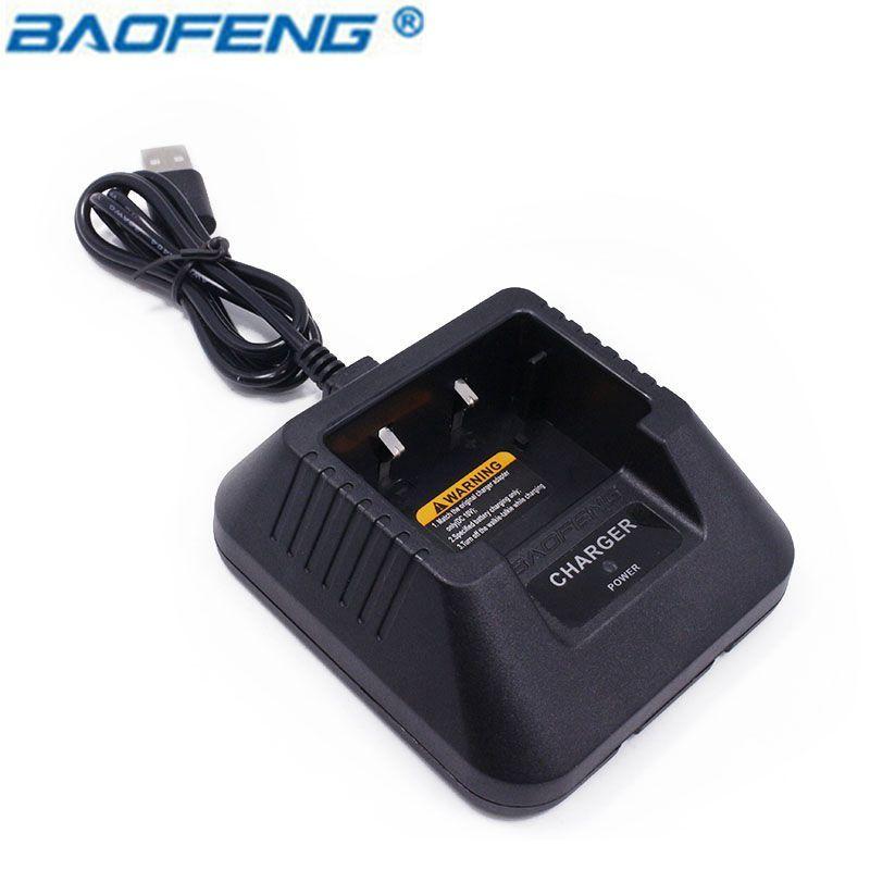 Baofeng UV-5R USB De base de Bureau chargeur de batterie pour pofung UV5R UV-5RE DM-5R dm5r Plus Li-Ion Chargeur CB Radio Talkie Walkie