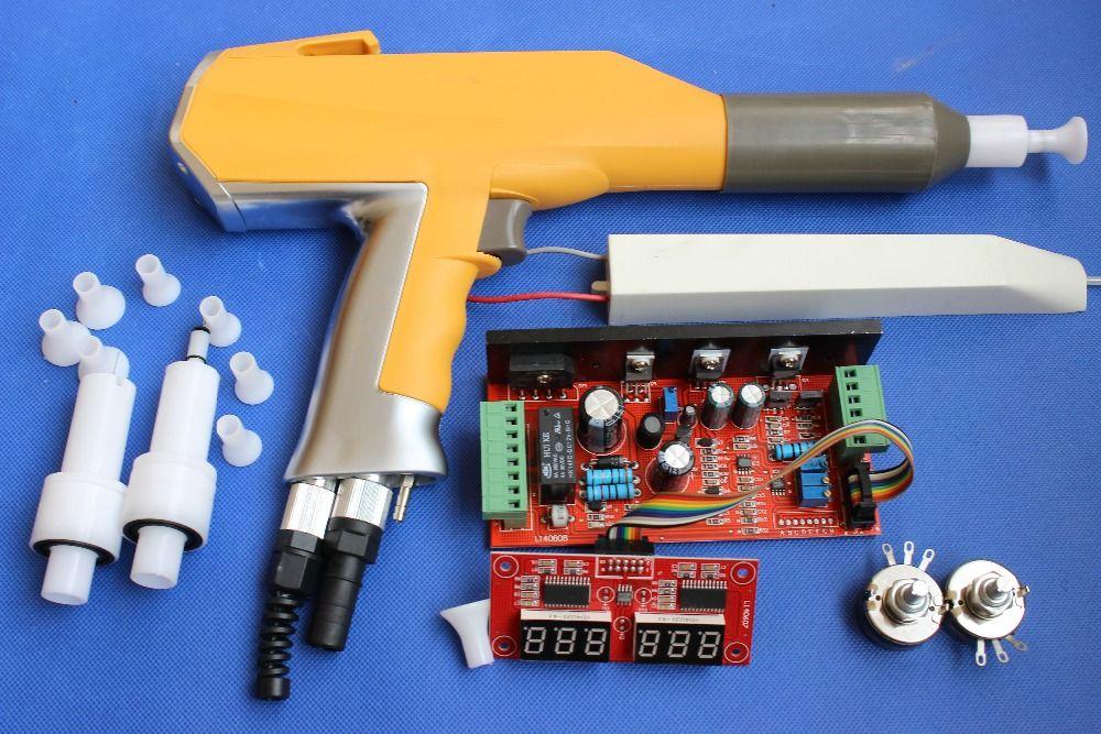 Ganze set digitale hand elektro pulver beschichtung spritzpistole system für Gema