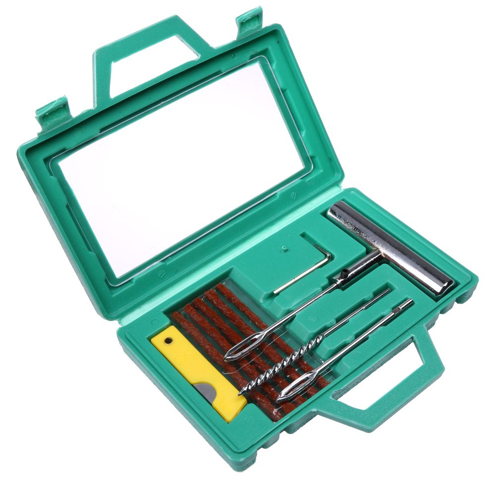 VODOOL Tire Repair Tool Car Bike Auto Tubeless Tire Tyre Needle Tool Sets Puncture Plug Repair Tool Kit Safety High Quality