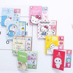Hello Kitty Totoro Doraemon Baymax lindos notas Kawaii de las etiquetas engomadas Scrapbooking Papeleria etiquetas engomadas del planificador 01963
