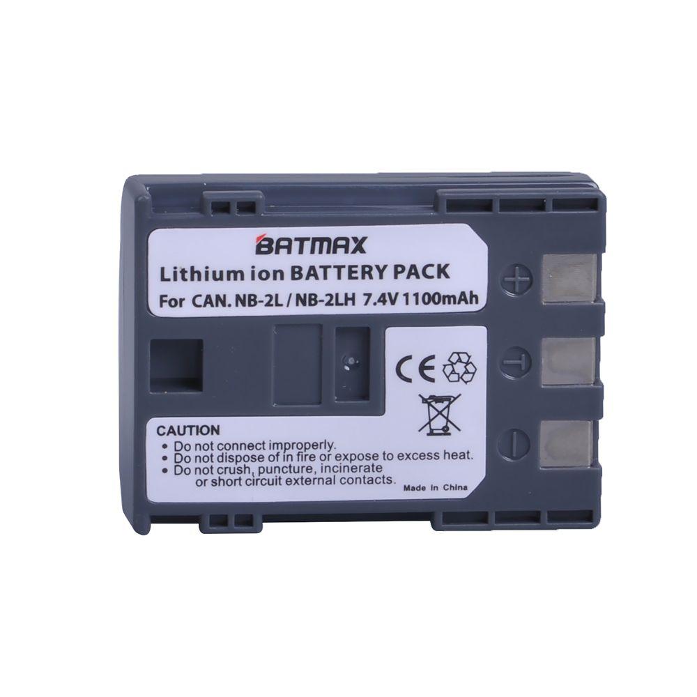 1 Pcs/lot NB 2LH NB-2L NB 2L NB2L NB-2LH BP-2L5 1100 mAh Rechargeable Li-ion Batterie pour appareil photo CANON 350D 400D G7 G9 S30 S40 z1