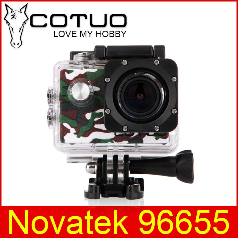 COTUO CS70 Sports Action Camera WIFI 14MP Full HD 1080P 30FPS 2.0