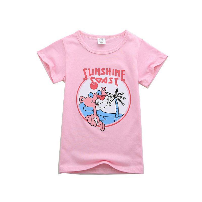 Kinder T-shirt Mode Lässig Kurzarm Nette Cartoon