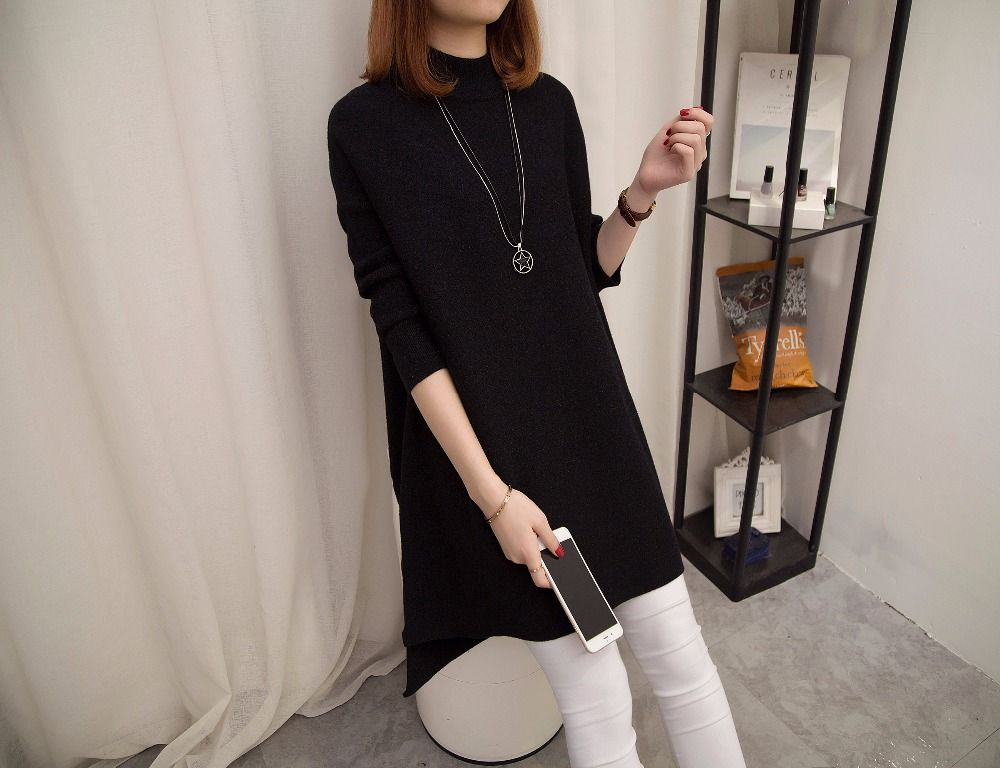 the spring and Autumn period, European and American fine temperament,new cashmere, wool, slim and red dress