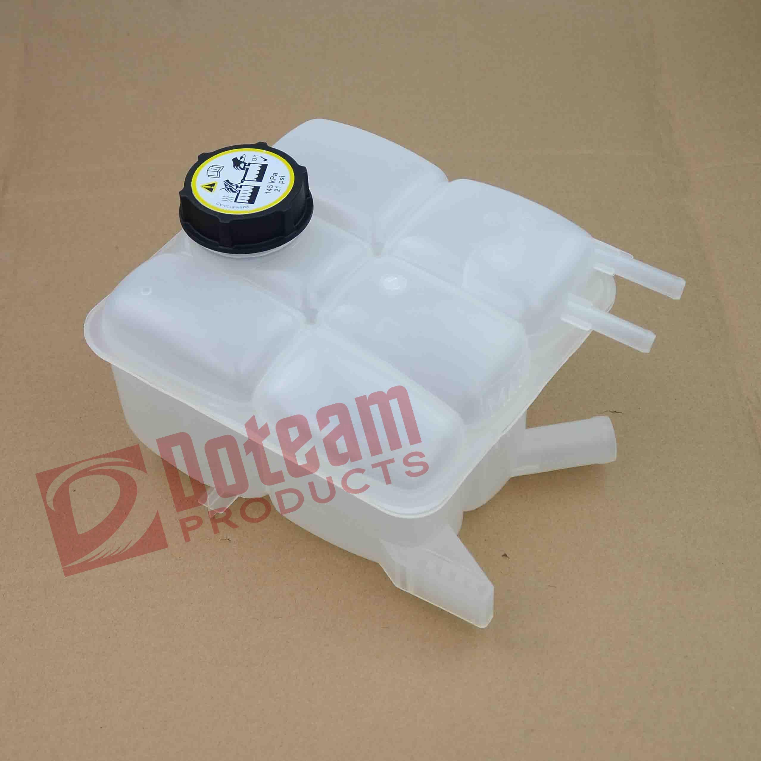 Coolant Reservoir Expansion Tank + Cap For Ford Focus II KUGA I 1.4 1.6 1.8TDCI 3M5H8K218AJ