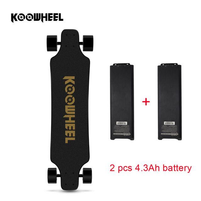 Koowheel 2nd Generation Elektrische Longboard 4 rad Selbst Balance Roller Smart Longboard Austauschbare Dual Motor Hoverboard Skate