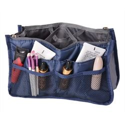 NIBESSER Cosmetic Bag Travel Organizer Portable Beauty Pouch  Bag Toiletry Make Up Makeup Organizers Phone Bag Case