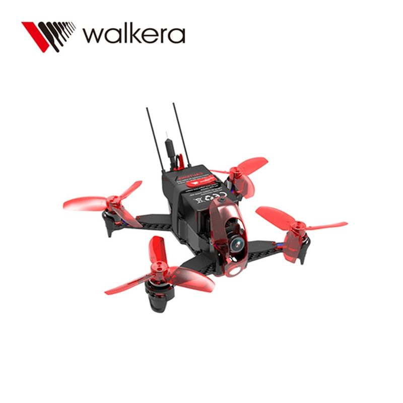 Walkera Rodeo 110 Racing Drone 110mm RC Quadcopter RTF DEVO 7 TX With Goggle4 FPV Glasses / 600TVL Camera Mini Drone